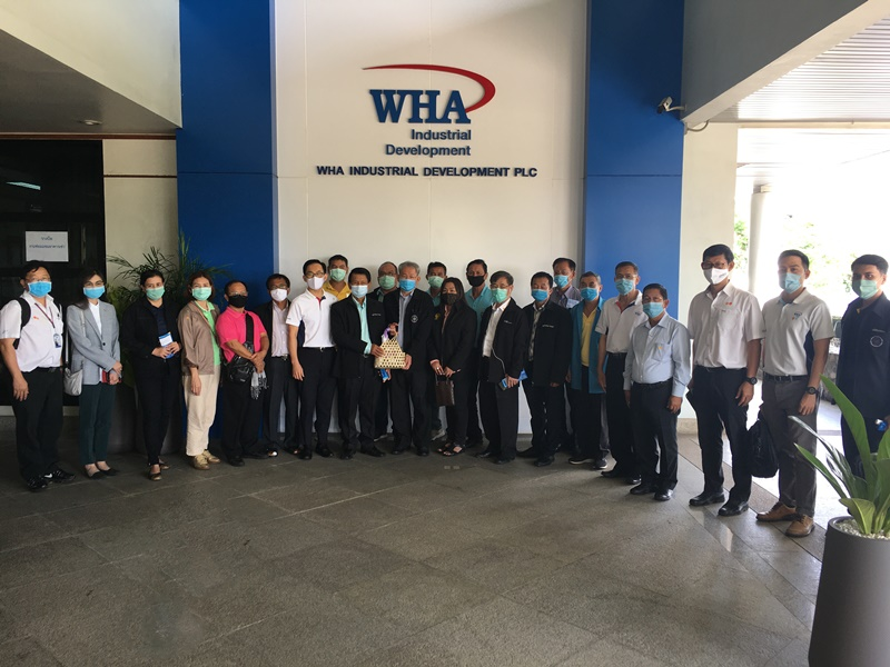 Khlong Wang Tanode Basin Committee Visits WHA's Wastewater  Management and Treatment Project in Rayong